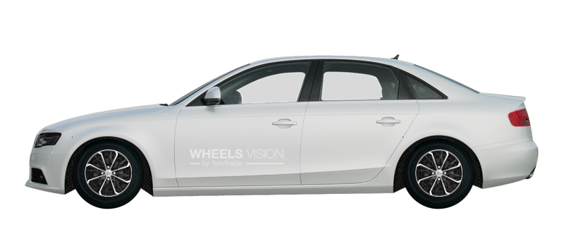 Tyres And Wheels Sizes Audi A4 Iv B8 Sedan 2007 2019