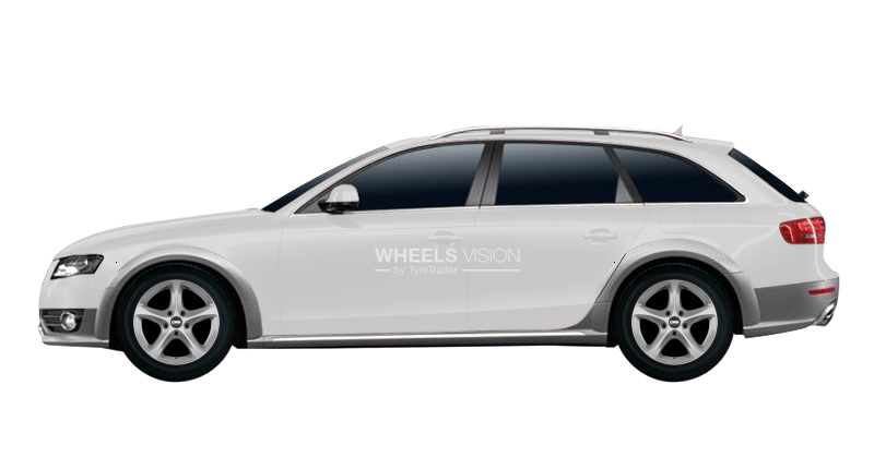 Tyres And Wheels Sizes Audi A4 Allroad Iv B8 2009 2019