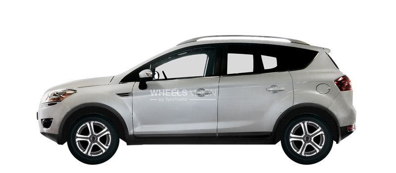 Factory Wheels And Tyres Sizes Ford Kuga I