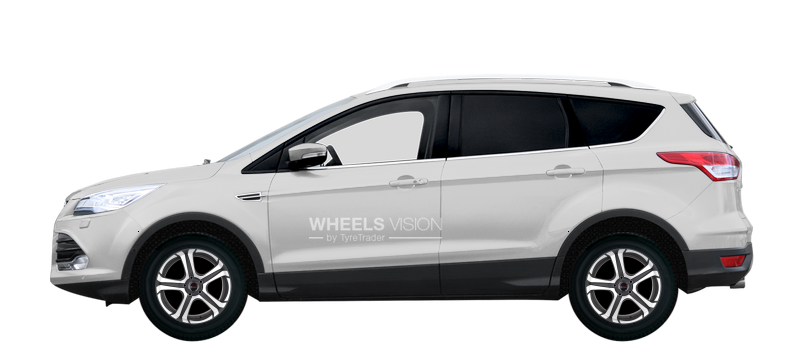 Factory Wheels And Tyres Sizes Ford Kuga Ii